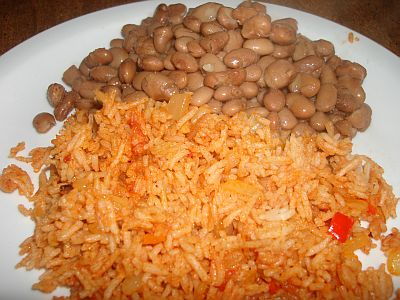 how to make mexican rice and beans