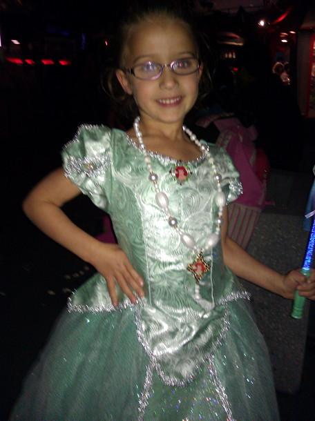 my Princess Dress at Disney