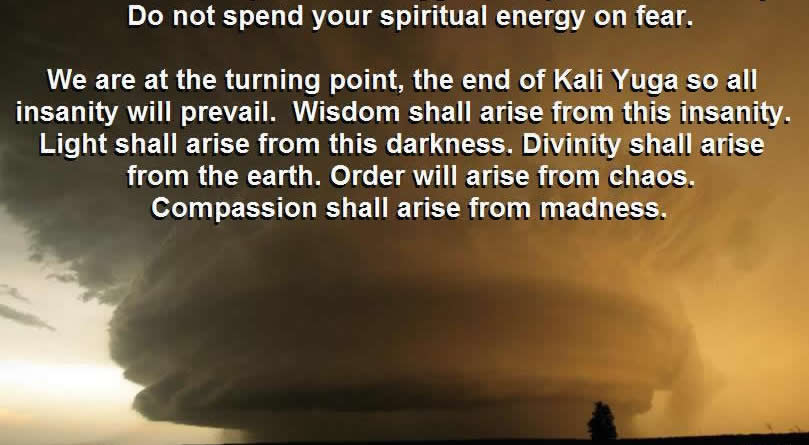 Kali Yuga and the Four Ages of human life on Earth