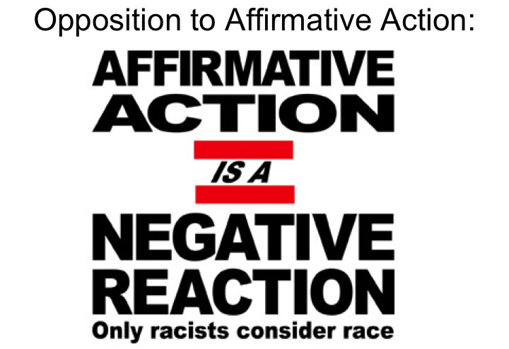 affirmative action is racial discrimination The idea of white victimhood is increasingly central to the debate over affirmative action  the myth of reverse racism  discrimination as a.
